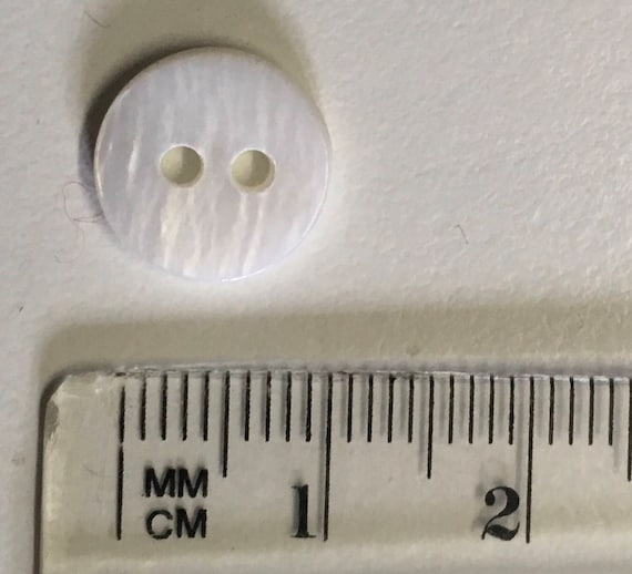 10mm genuine pearl button