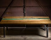 Panama Table - Resin Rive...