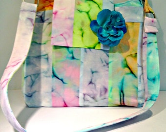 Fun and Colorful Tie Dye Bag or Purse