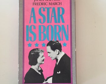 A Star Is Born (1937, VHS) Janet Gaynor