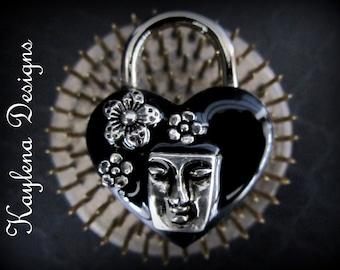 Goddess Lock , Heart Lock, lock, BDSM Lock, lock and key, locking Jewelry