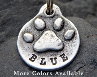 Pet Loss Gift Pet Memorial Keychain Custom Personalized Pet Tag Dog Memorial Pet Remembrance Hand Stamped Dog Tag