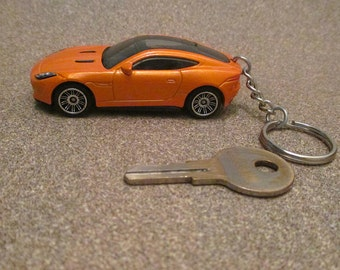 Jaguar F-type Coupe keychain Jaguar sports car keychain,Mens or Womens keychain, Mens or Womens gift,llavero keychain sleutelhanger Stocking