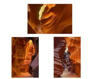 Southwest Decor, Desert Photography, Slot Canyons, Antelope Canyon Photography, Sculptural Rocks, Abstract Art, Large Wall Art, Home Decor