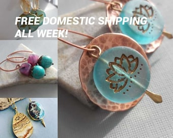Free Domestic shipping all week