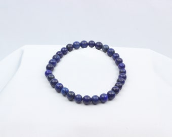 Men's Beaded Bracelet - Lapis lazuli (6mm)