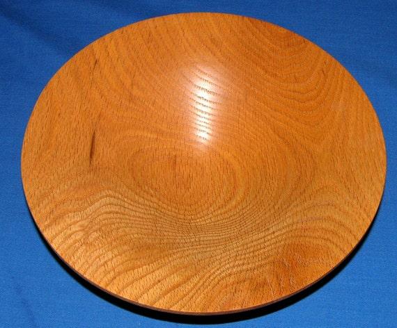 Red Oak Bowl Woodturning - Flow 7