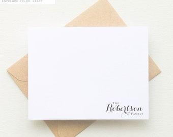 Family Personalized Stationery Set | Last Name Personalized Stationary Set  | Teacher Gift | Family Gifts | Monogram Stationary