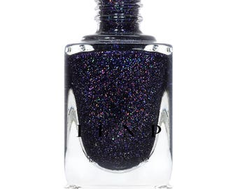 West Wing - Dark Plum Holographic Nail Polish
