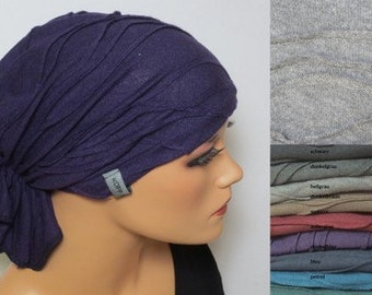 BANDANA without binding many colours prakisch easy with chemotherapy alopecia hair loss rather than wig OP hood cancer