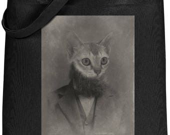 Cat Bag, Cat Tote Bag, Cat Lover Gift, Tote Bag, Cat, Shopping Bag, Gift for Her, Cat Tote, Cat Gift, Funny Tote Bag, Book Bag, Gift for Him