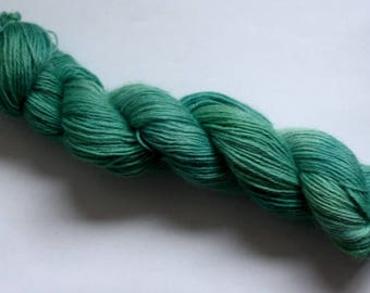 Heaven Is A Place on Earth - hand dyed rare breed Wensleydale - DK