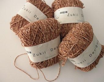 Zukii Designs yarn - Morocco tan, cotton, one ball