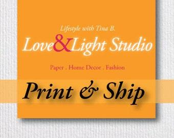 Print & Ship Your Digital Artwork