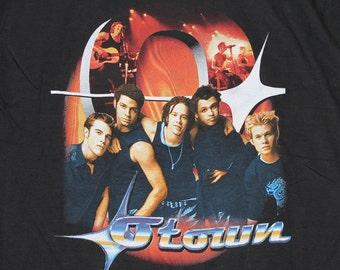 M/L * NOS vtg O Town concert tour t shirt * boy band medium large * 52.167
