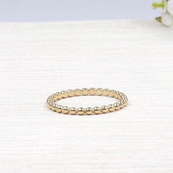 ring plated gold balls