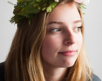 Morning Light Flower Crown
