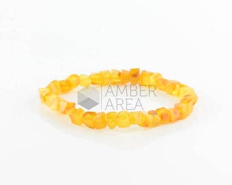 Amber Bracelet for Adults, Amber Jewelry // 1753