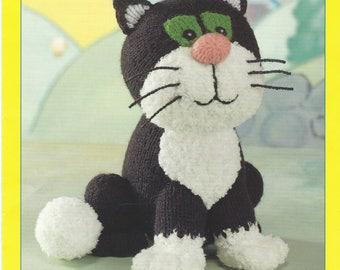 Jess the Cat Knitting Pattern , Postman Pats Cat Knitting Pattern Pdf Instant Download