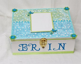 Memory Box, Wedding Gift, Birthday, Custom Box, Keepsake Box, Graduation 2018, Senior, Wedding Memory Box, Bridal Shower Gift, Baby Keepsake