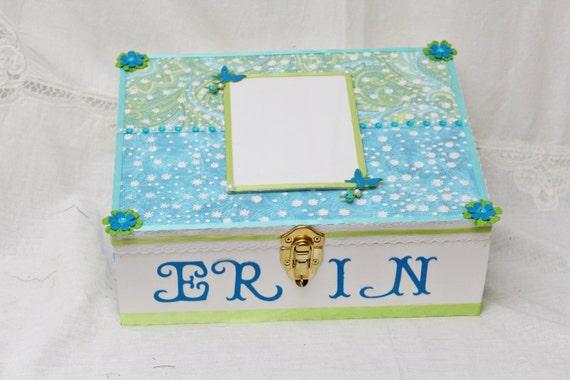 Keepsake Wedding Gifts: Memory Box Wedding Gift Birthday Custom Box Keepsake Box