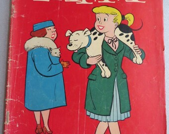 Vintage Taffy Comic Book, Dell Comics, Dotty Dripple and Taffy, No. 801, 1957