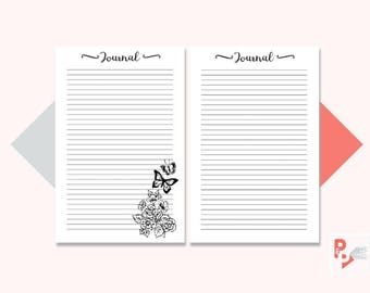 JOURNAL Mini Happy Planner Printable Inserts, Create 365, Happy Planner Insert, Happy Planner Mini, MAMBI Planner, Instant Download