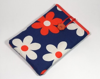 iPad Mini Cover Flowers, Handmade Daisies iPad Mini Case, iPad Mini Sleeve