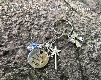 Pinocchio  Keychain (When You Wish Upon a Star)