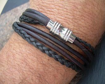 Mens Bracelets Leather, Leather Wrap Bracelet, Leather Bracelets for Mens, Men's Leather Bracelets, Womens Leather Bracelets, Leather