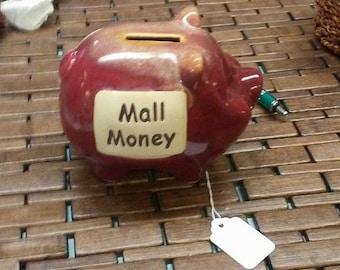 Mall Money Piggy Bank