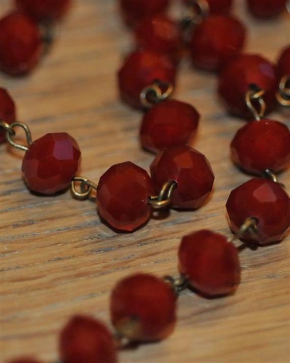 red moonstone beads - photo #1