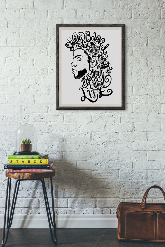Dearly Beloved - Typography Wall Decals, Home Decor, Interior Design, Motivational Decal, Inspiring, Good Vibes, Great Feelings, Prince