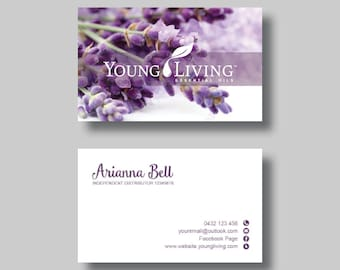 Young living essential oils business card stamp digital young living essential oils business card calm digital design colourmoves