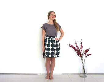 World map skirt vintage map print fabric pleated skirt knee geometric skirt monochrome skirt bold geometric print skirt quirky skirt circle themed gumiabroncs Images