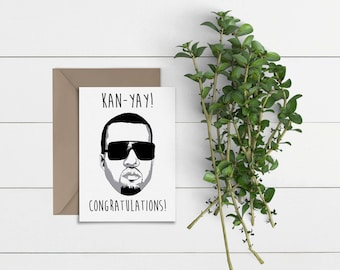 Kan-Yay! | Congratulations / Well Done Card | 300gsm Cardstock | With Envelope | Greeting Card #250