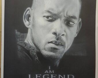 Wil Smith. I Am Legend