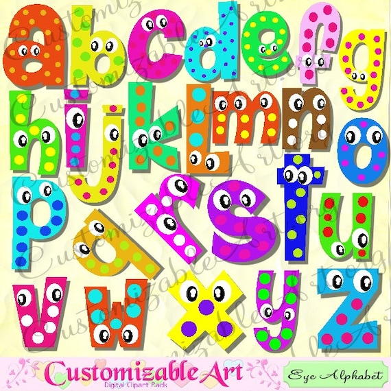 Digital fun alphabets clipart cute digital letters of the digital fun alphabets clipart cute digital letters of the alphabet clip art wiggle googly eyes cartoon colorful 3d shadow color printable altavistaventures Images