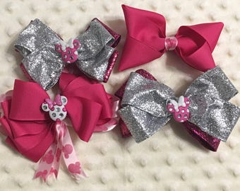 Minnie Mouse Inspired Bows