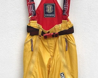 20% OFF Vintage Phenix Yellow Ski Pants With Suspenders in Size 32-33 inches