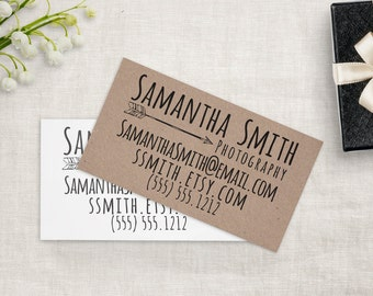 Sayabell stamps etsy business card stamp custom business card or etsy shop stamp custom stamp by sayabell colourmoves