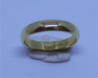 Victorian Wedding ring in 22 carat gold