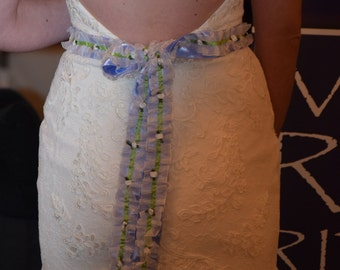 BRIDAL BELT - Cinderella's Petticoat - A Sash or Cord to Bind a Prince