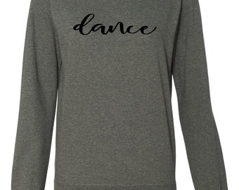 Women's Lightweight Crewneck Dance Sweatshirt