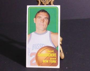 1971 Dave Debusschere basketball card