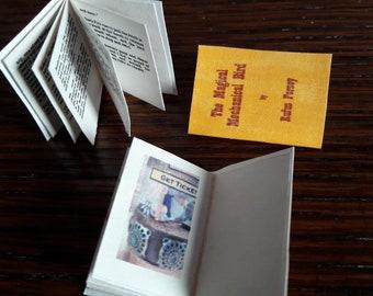 DIY Dollshouse book instant download: The Magical Mechanical Bird