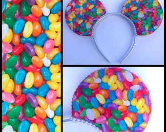 Jelly Bean Easter Mouse Ears