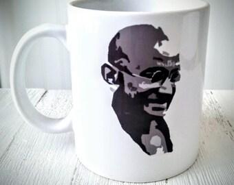 Gandhi Coffee Mug w/quote