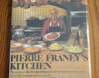 Pierre Franey's Kitchen Vintage 1982 Cookbook Recipes
