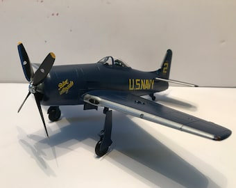 F8F-1 Bearcat- 1949 Blue Angels--Detailed Scale Model- 1/48 scale
